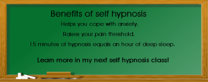 self hypnosis benefits